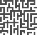 Infinite maze seamless background pattern Stock Photo