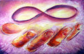 Infinity Painting Royalty Free Stock Image