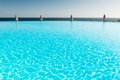 Infinity pool Royalty Free Stock Photos