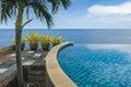 Infinity Pool at a Villa in Bali