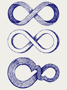 Infinity symbol Stock Photos