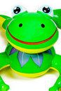 Inflatable Frog Pool Toy Royalty Free Stock Photo