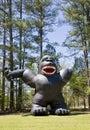 Inflatable Gorilla Royalty Free Stock Photo
