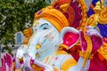 Inflatable statue of Lord Ganesha at Diwali celebrations in London Royalty Free Stock Photo