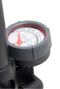 Inflation pressure gauge close up of Royalty Free Stock Images