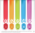 Info graphic template abstract element Royalty Free Stock Photography