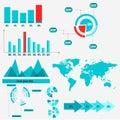 Info graphics, business graphics