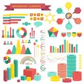 Info graphics vector elements this is file of eps format Royalty Free Stock Photography