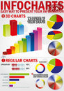 Infochart Stock Photography