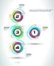Infograph template with multiple choices and a lot of infographic design elements