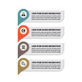 Infographic business concept colored vertical vector banners location information banners infographic template infographics design Stock Photos