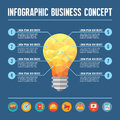 Infographic Business Concept -...