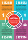Infographic business concept - vector layout A4 format. Vector infographic template.