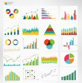 Infographic dashboard. infographic for statistics, analytics, marketing reports Royalty Free Stock Photo