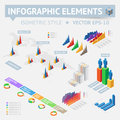 Infographic design elements vector saved as eps file contains objects transparency shadows etc Royalty Free Stock Photo
