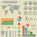 Infographic elements business for you design Royalty Free Stock Images