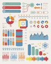 Infographic elements eps vector format Royalty Free Stock Photos