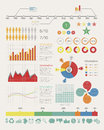 Infographic elements eps vector format Stock Image