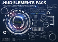 Infographic elements. futuristic user interface HUD UI UX. Abstract background with connecting dots and lines
