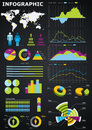 Infographic Graphs Stock Image