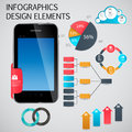 Infographic template business vector illustration this is file of eps format Stock Image