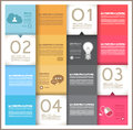 Infographic template design - Original geometrics Stock Photos