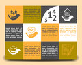 Infographic template insurance company
