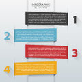 Infographic template vector of elements Royalty Free Stock Photography