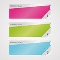 Infographic templates for Business banners vector