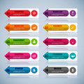 Infographic vector design template eps Stock Photography