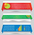 Infographic web design element Royalty Free Stock Image