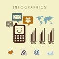 Infographics design Stockbilder