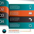 Infographics design template  Stock Photos