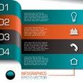 Infografiky dizajn šablóna