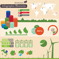 Infographics elements. Ecology Stock Photography