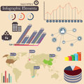 Infographics elements. Industry Stock Photos