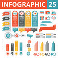 Infographics elements a set of conceptual to create your Stock Photos