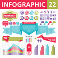 Infographics elements set of for the development of creative Royalty Free Stock Image