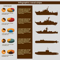 Infographics naval ships, , flat design, elements