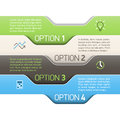 Infographics option design template illustration Stock Photography
