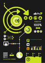 Infographics set and Information technology Graphics  Stock Photos