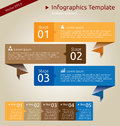 Infographics template for business presentation or for web presentations vector eps version Stock Photo