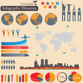 Infographics. Tourism and Travel Stock Image