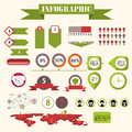 Infographics vector this is file of eps format Royalty Free Stock Photography