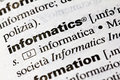 Informatics Royalty Free Stock Photo