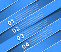Information banner design vector element Royalty Free Stock Photography