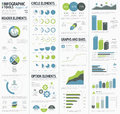 Information graphics to visualize corporate data infographics eps Royalty Free Stock Photography