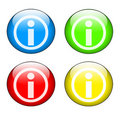 Information icon set Royalty Free Stock Photography