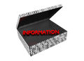 Information in a Numeric Box Royalty Free Stock Photography