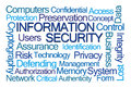 Information Security Word Cloud Royalty Free Stock Photo